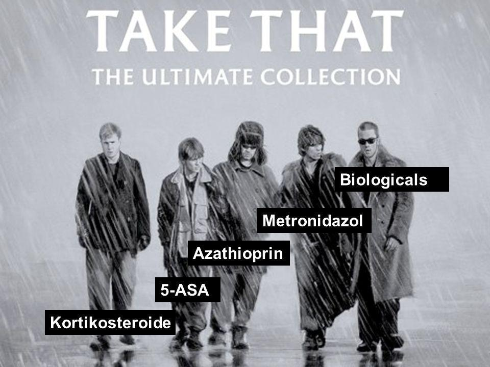 Biologicals Metronidazol Azathioprin 5-ASA Kortikosteroide