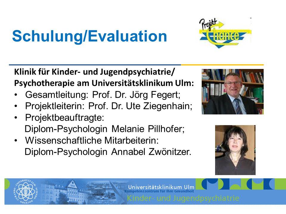 Schulung/Evaluation Klinik für Kinder- und Jugendpsychiatrie/