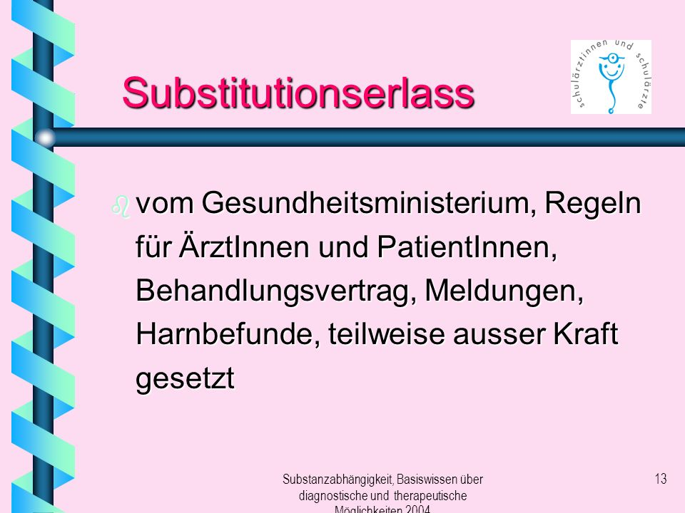 Substitutionserlass
