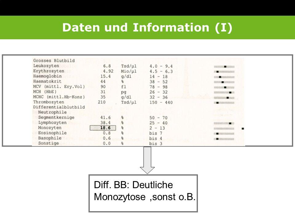Daten und Information (I)