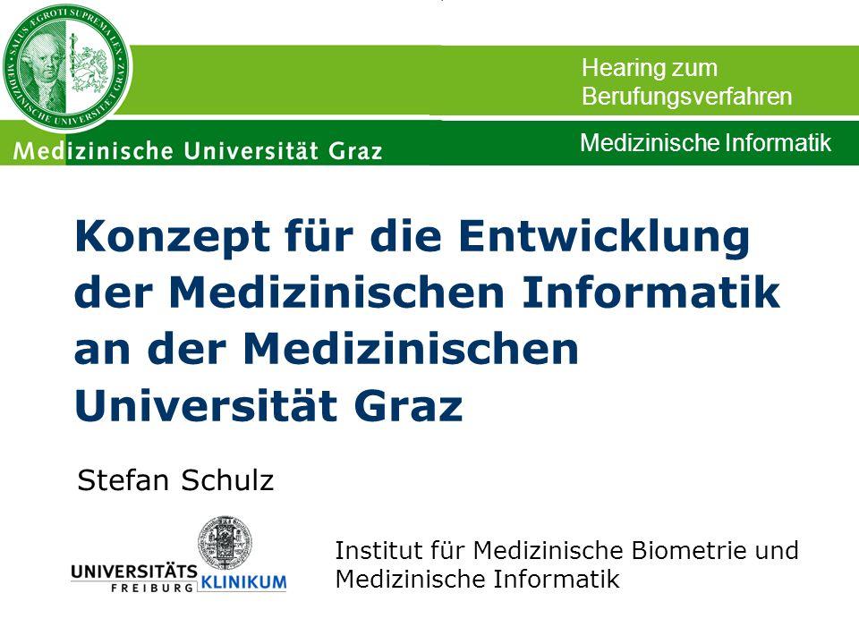 Hearing zum Berufungsverfahren. Medizinische Informatik.