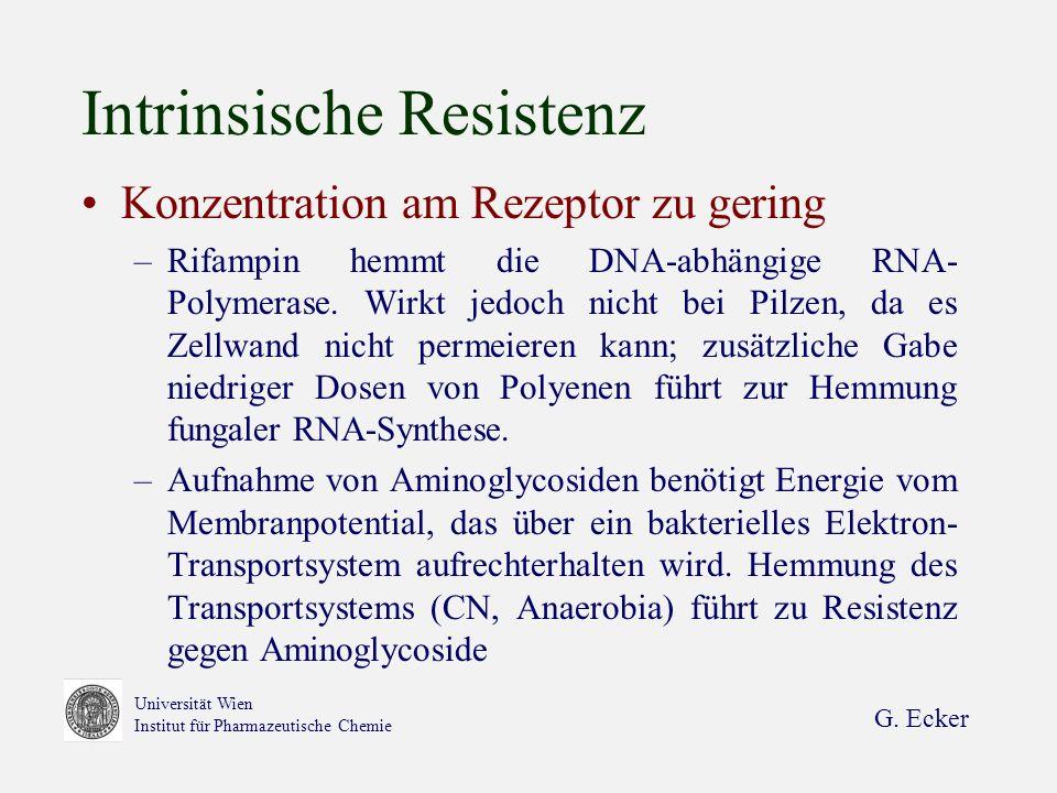 Intrinsische Resistenz