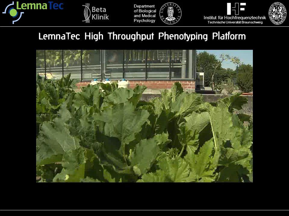 LemnaTec High Throughput Phenotyping Platform