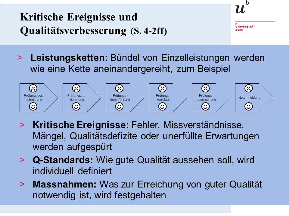 Kritische Ereignisse und Qualitätsverbesserung (S. 4-2ff)