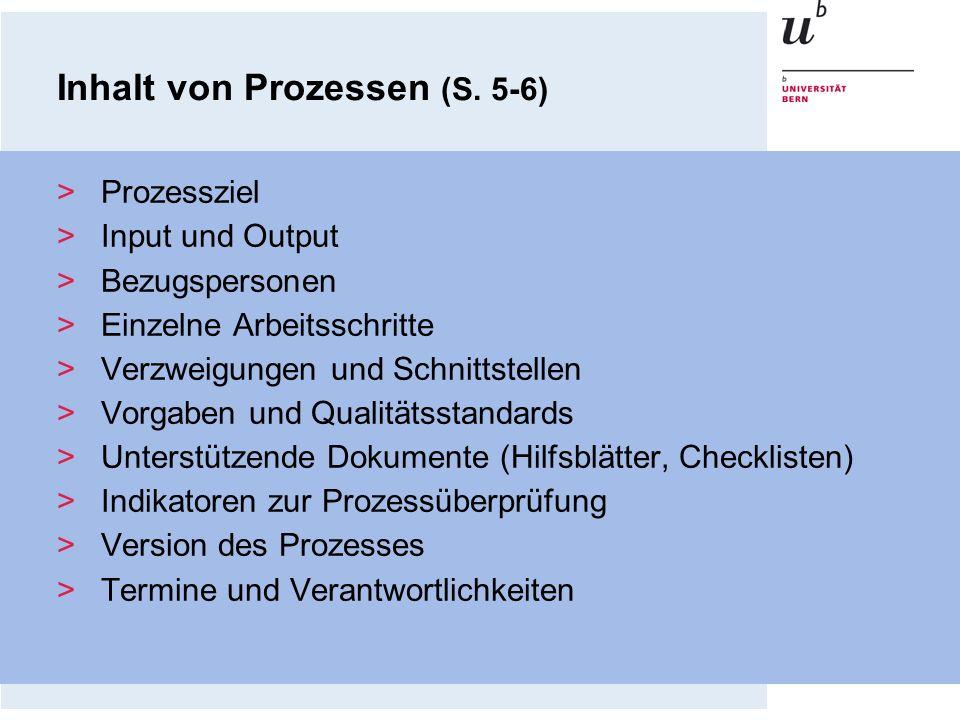 Inhalt von Prozessen (S. 5-6)