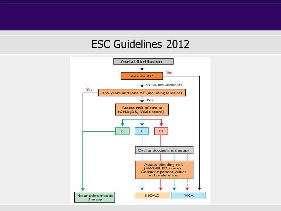 ESC Guidelines 2012