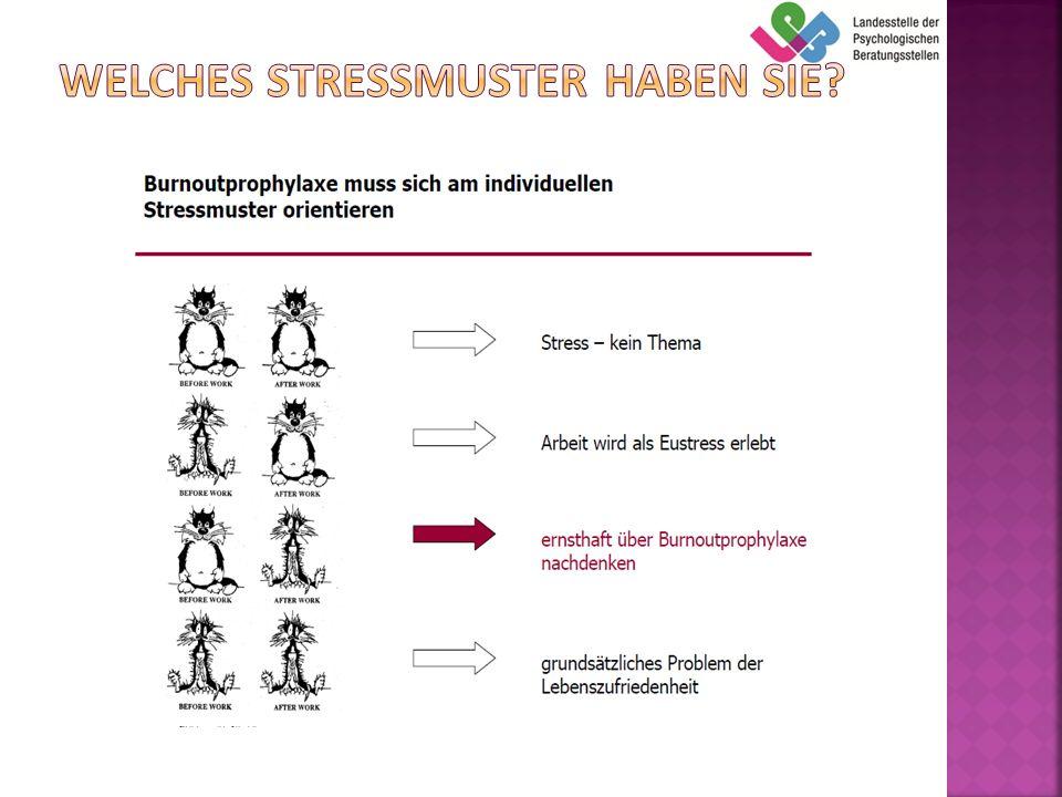 Welches Stressmuster haben Sie