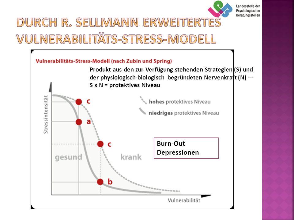 Durch R. Sellmann Erweitertes Vulnerabilitäts-Stress-Modell