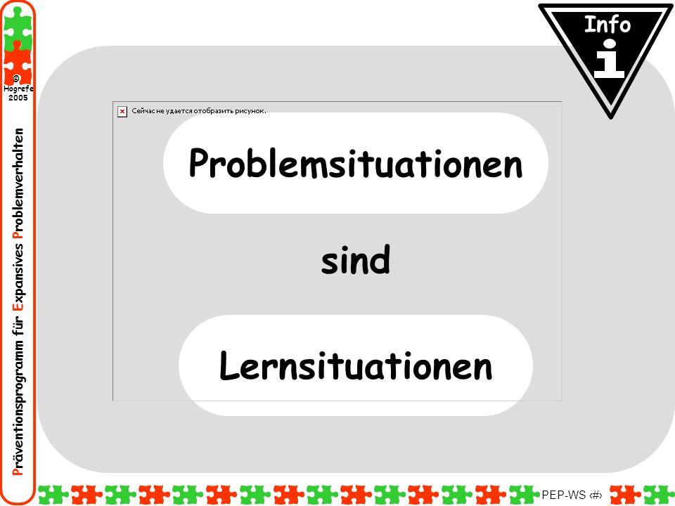 sind Problemsituationen Lernsituationen