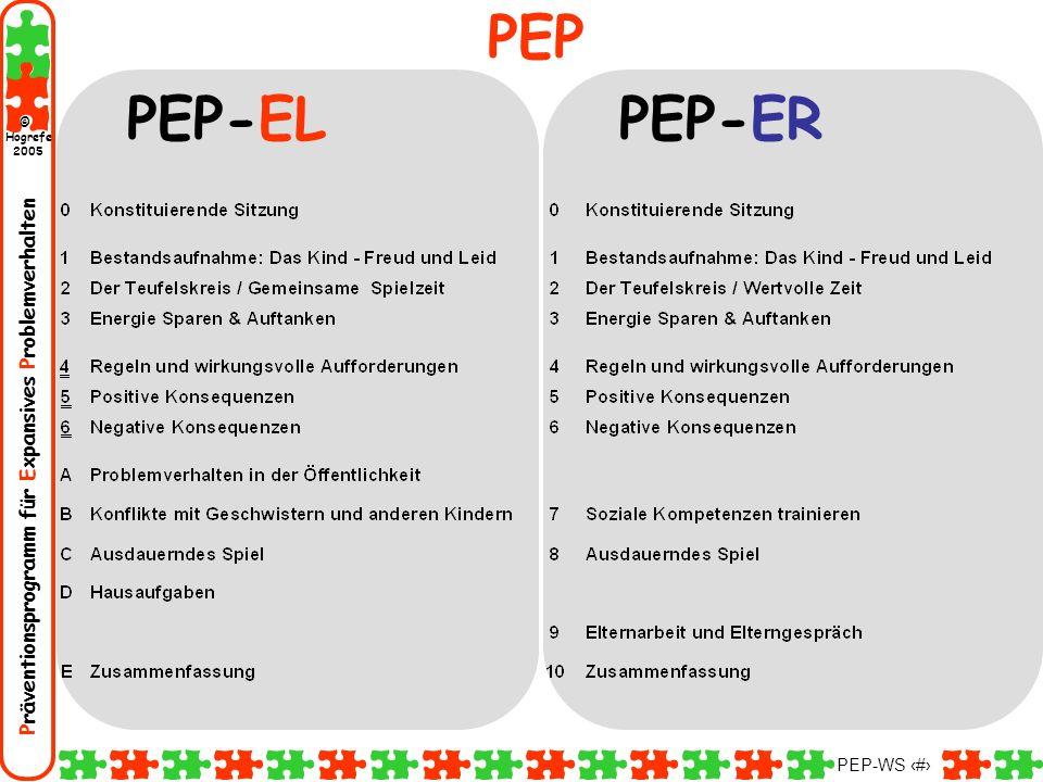 PEP PEP-EL PEP-ER