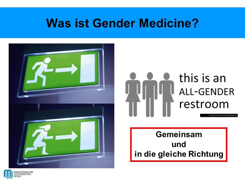 Was ist Gender Medicine