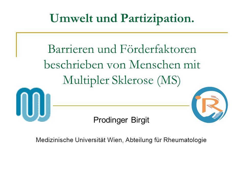 Medizinische Universität Wien, Abteilung für Rheumatologie