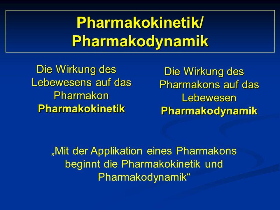 Pharmakokinetik/ Pharmakodynamik