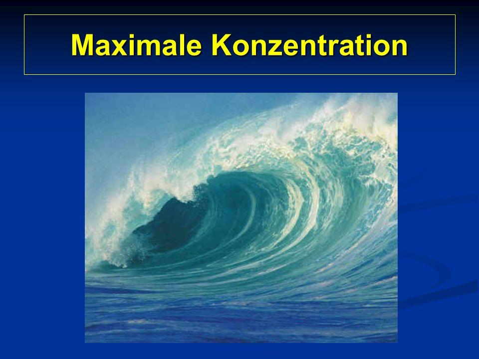 Maximale Konzentration