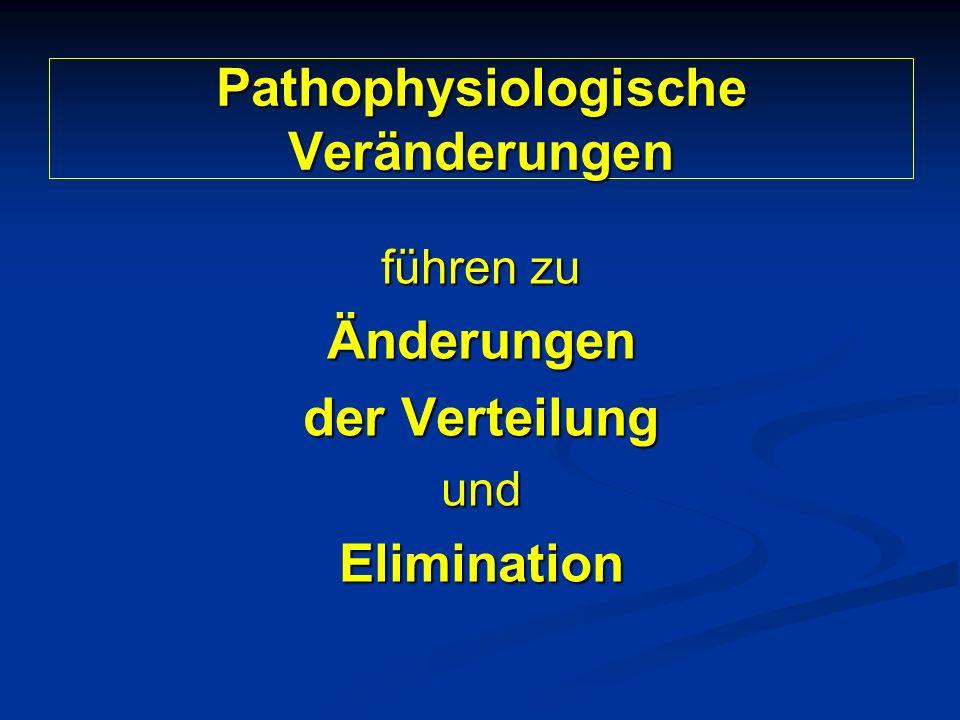 Pathophysiologische Veränderungen