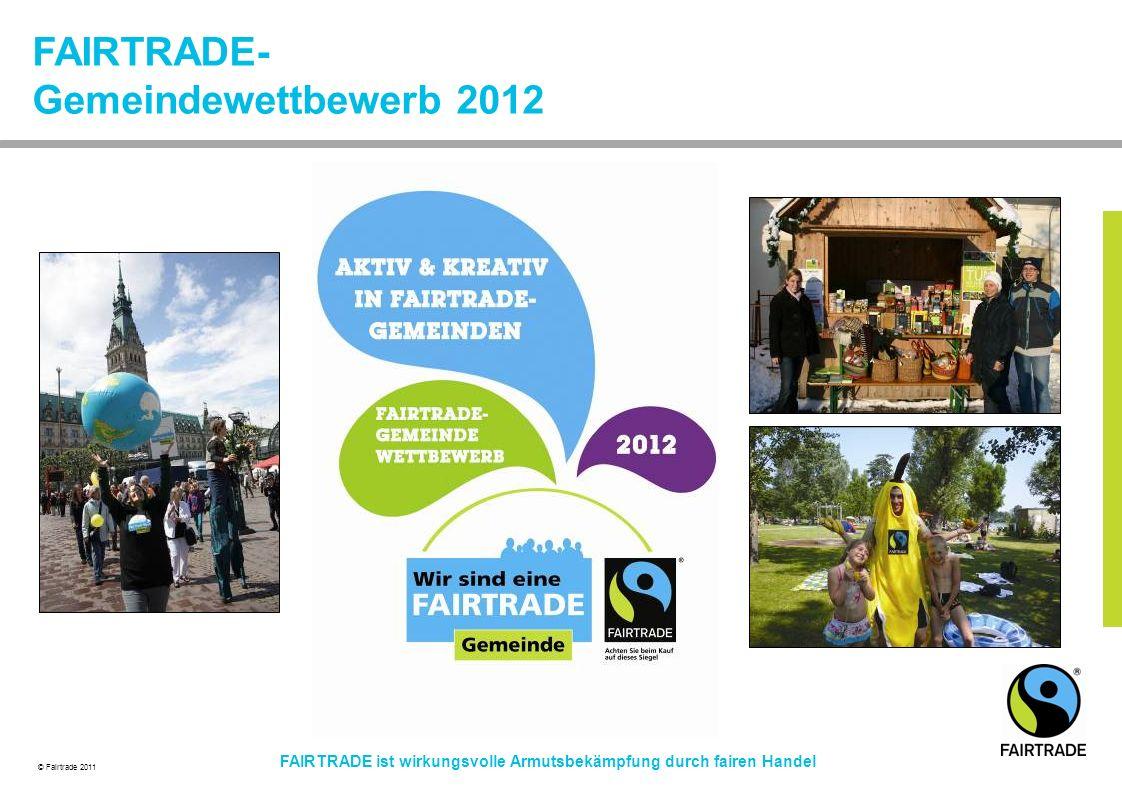 FAIRTRADE- Gemeindewettbewerb 2012