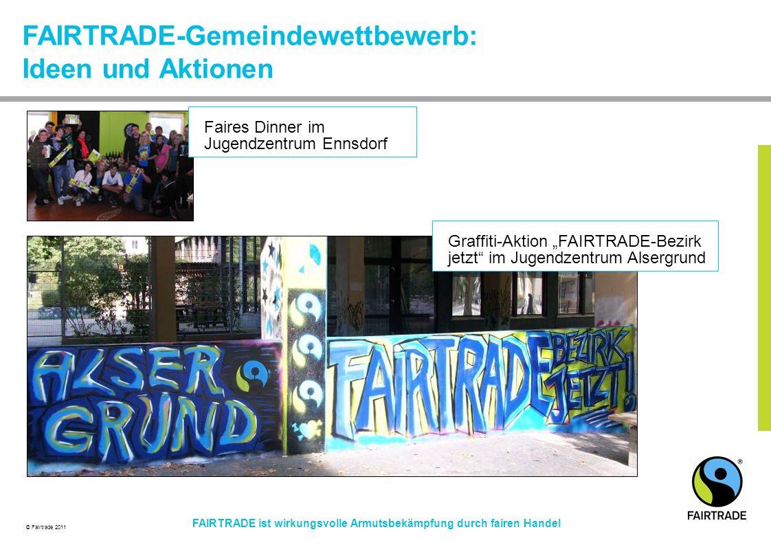 FAIRTRADE-Gemeindewettbewerb: Ideen und Aktionen