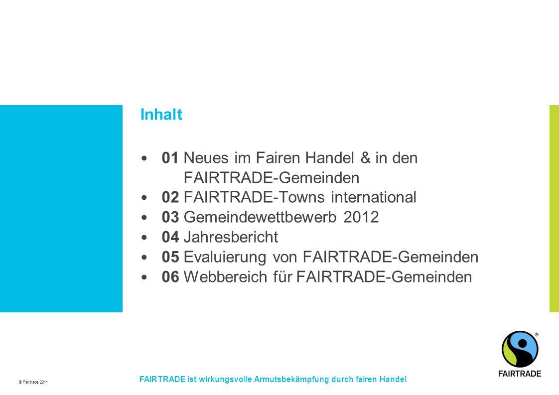01 Neues im Fairen Handel & in den FAIRTRADE-Gemeinden