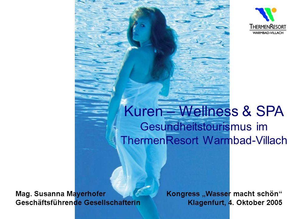 Gesundheitstourismus im ThermenResort Warmbad-Villach