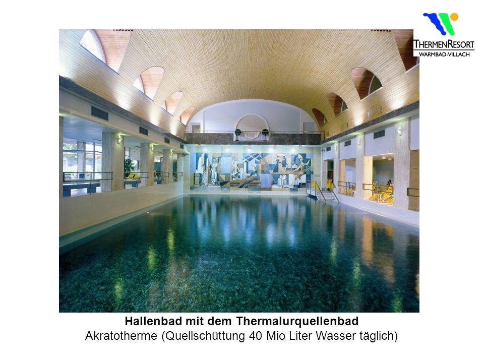 Hallenbad mit dem Thermalurquellenbad