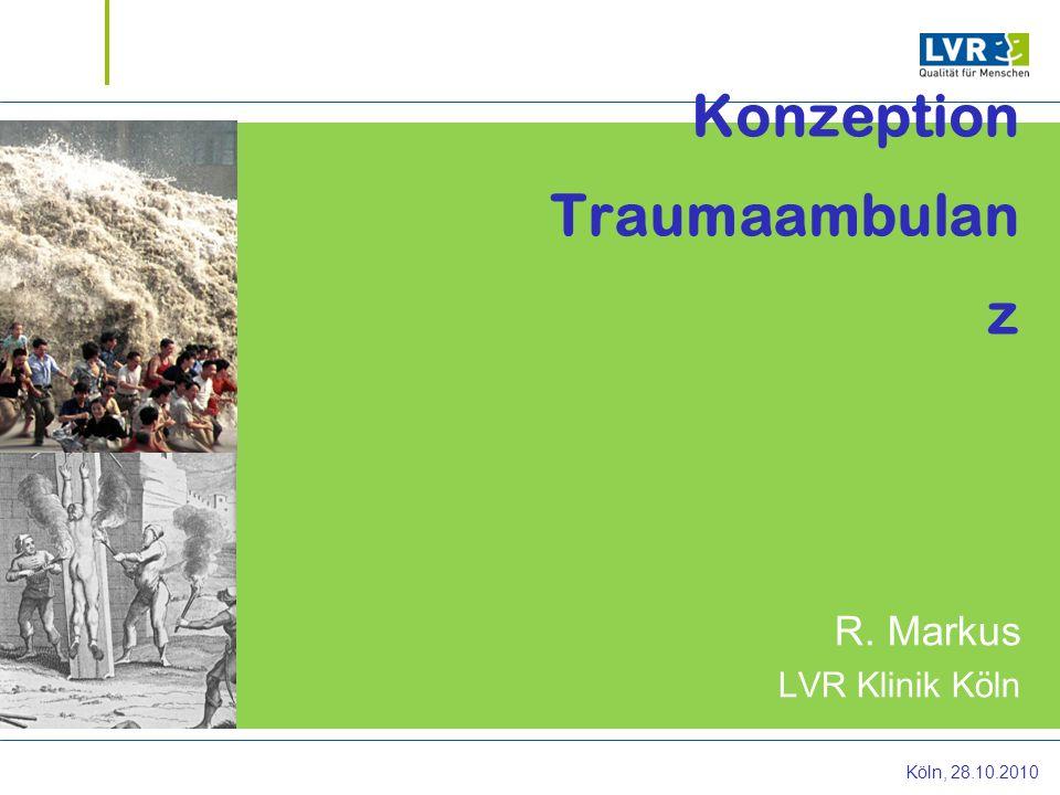 Konzeption Traumaambulanz