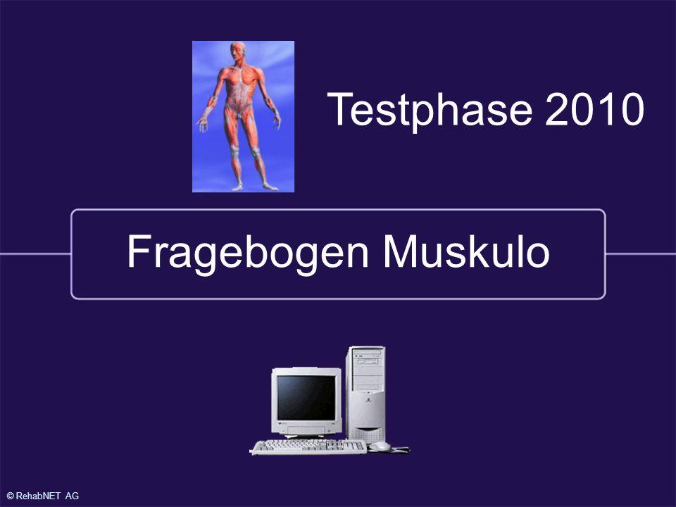 25.1.2000 Testphase 2010 Fragebogen Muskulo