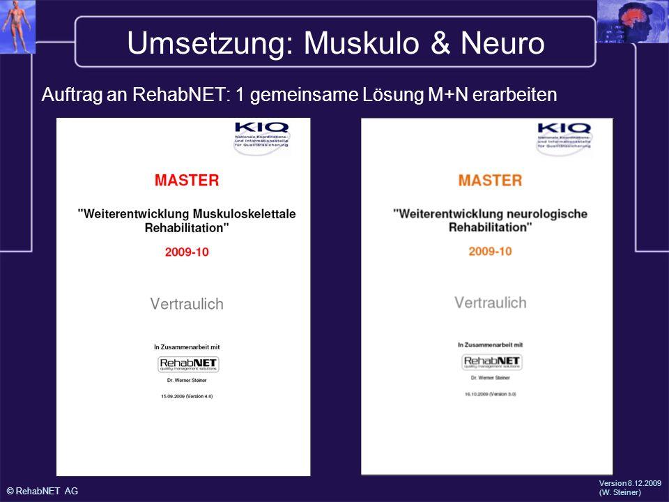 Umsetzung: Muskulo & Neuro