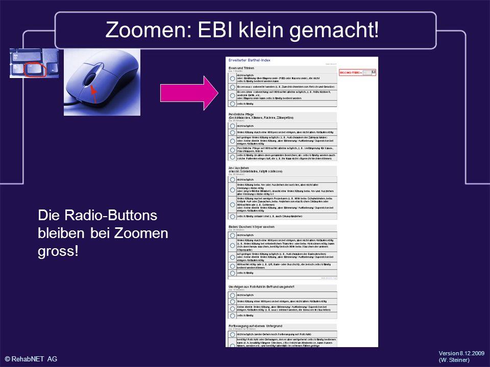 Zoomen: EBI klein gemacht!