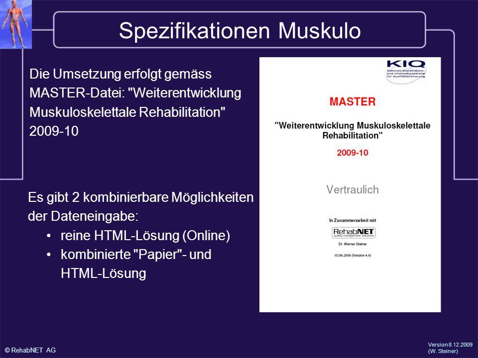 Spezifikationen Muskulo