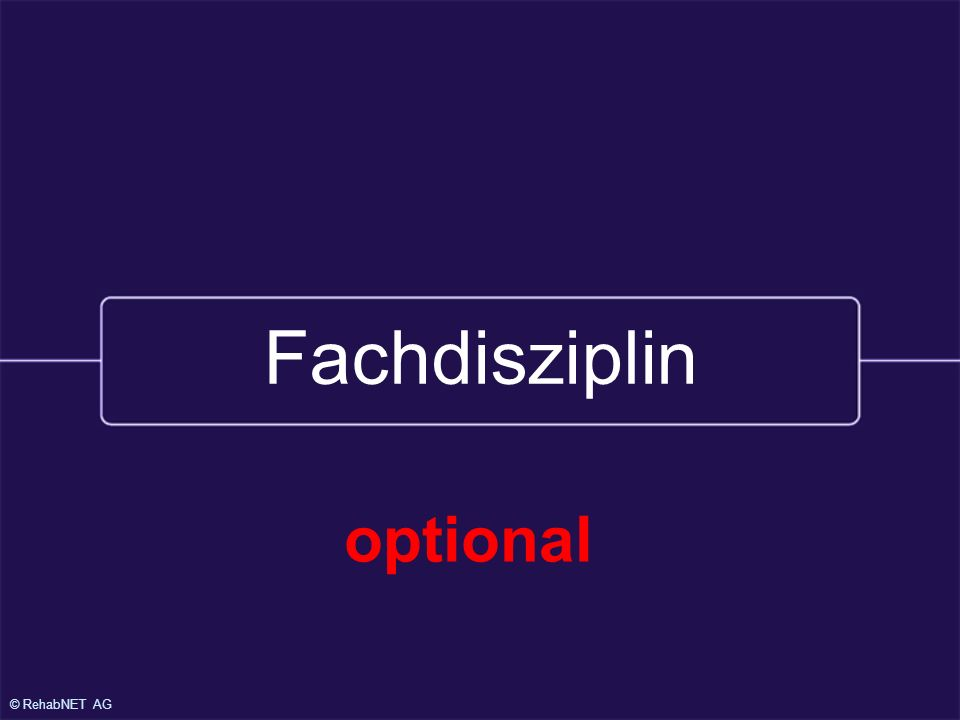 25.1.2000 Fachdisziplin optional