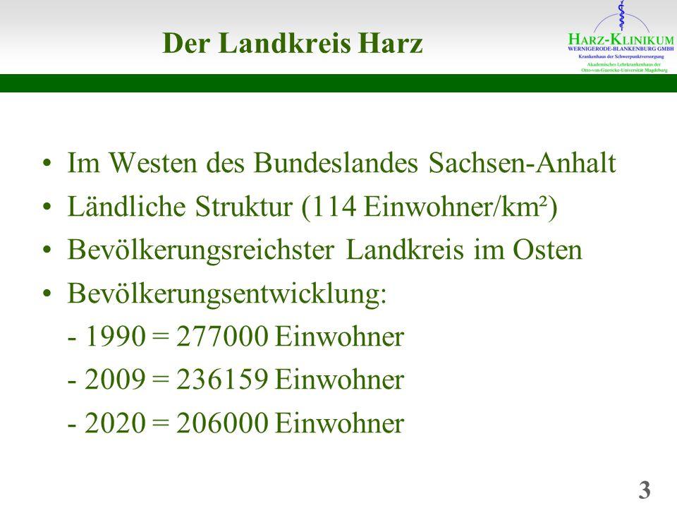 Im Westen des Bundeslandes Sachsen-Anhalt