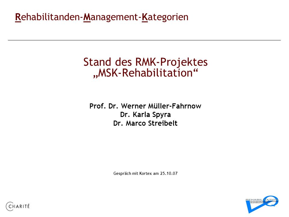 Prof. Dr. Werner Müller-Fahrnow