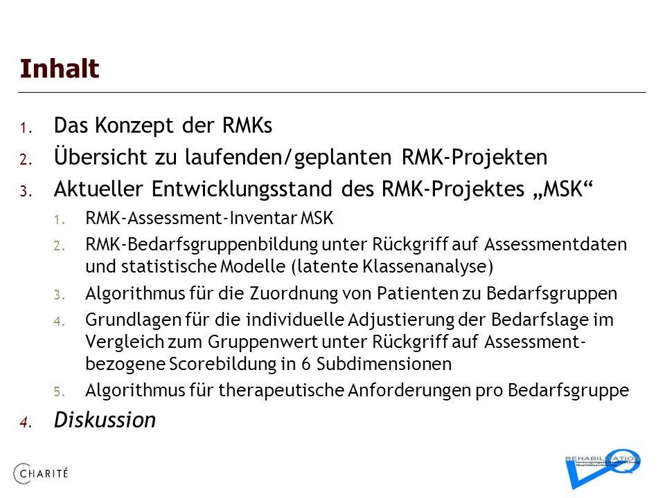 Inhalt Das Konzept der RMKs
