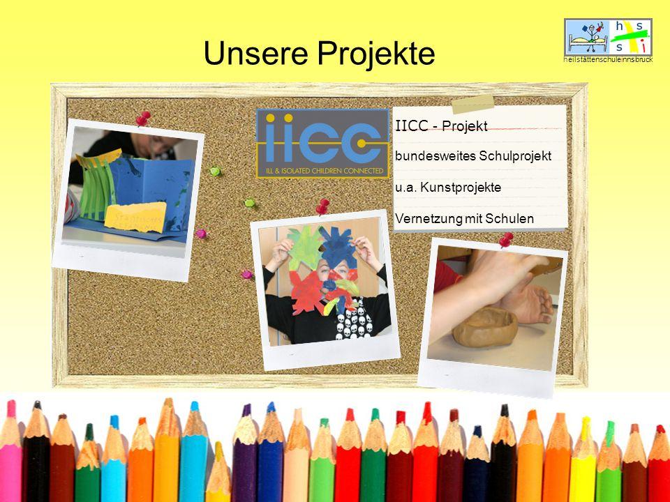 Unsere Projekte IICC - Projekt bundesweites Schulprojekt