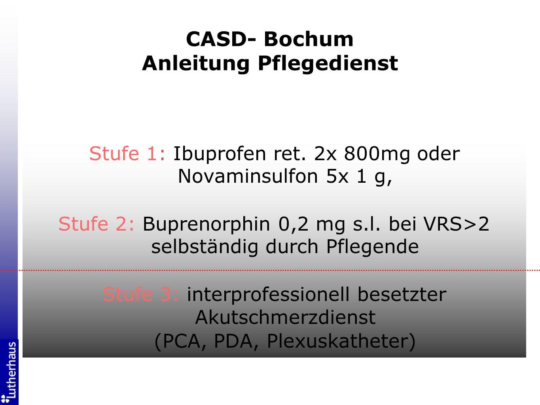 CASD- Bochum Anleitung Pflegedienst