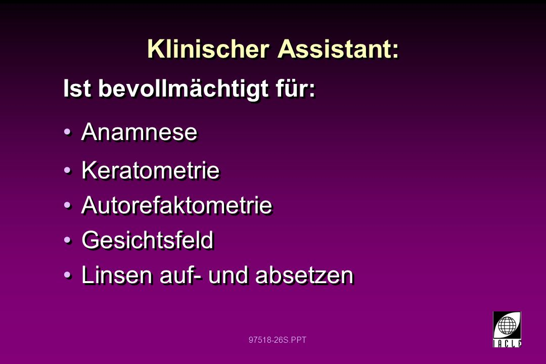 Klinischer Assistant: