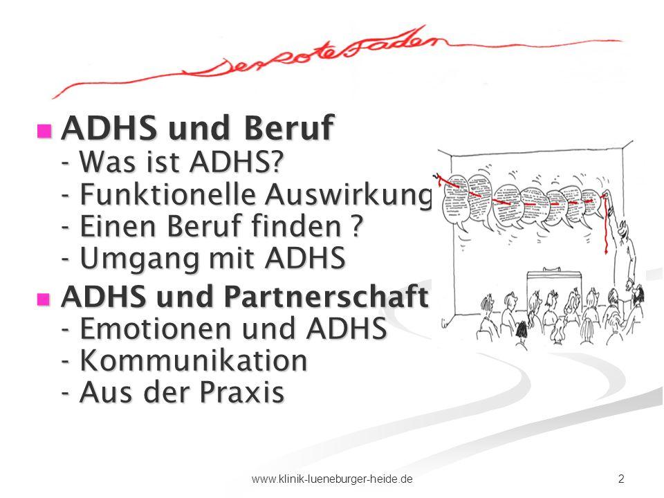 ADHS und Beruf - Was ist ADHS