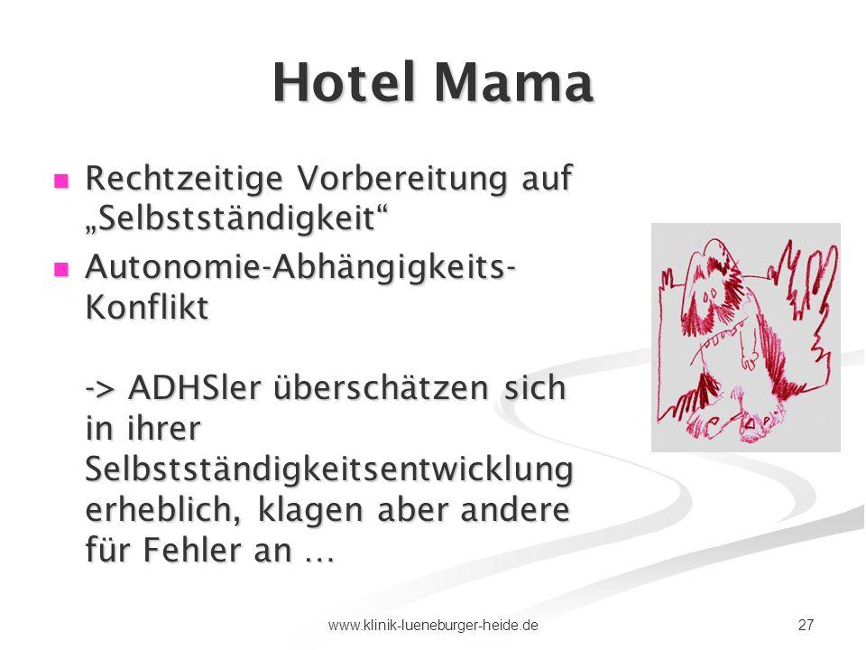 """Hotel Mama Rechtzeitige Vorbereitung auf """"Selbstständigkeit"""