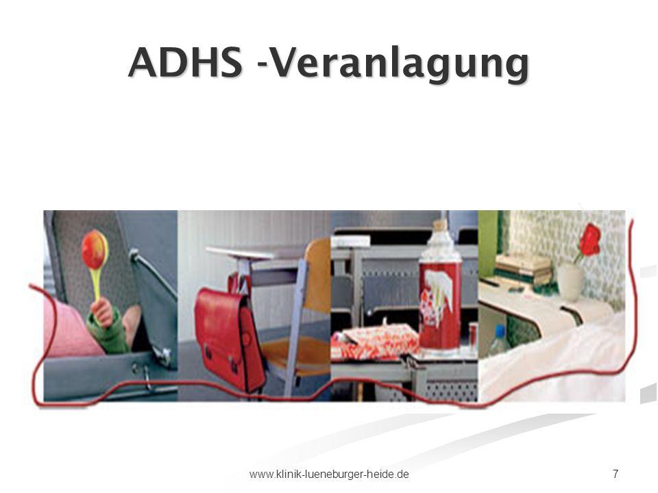 ADHS -Veranlagung www.klinik-lueneburger-heide.de