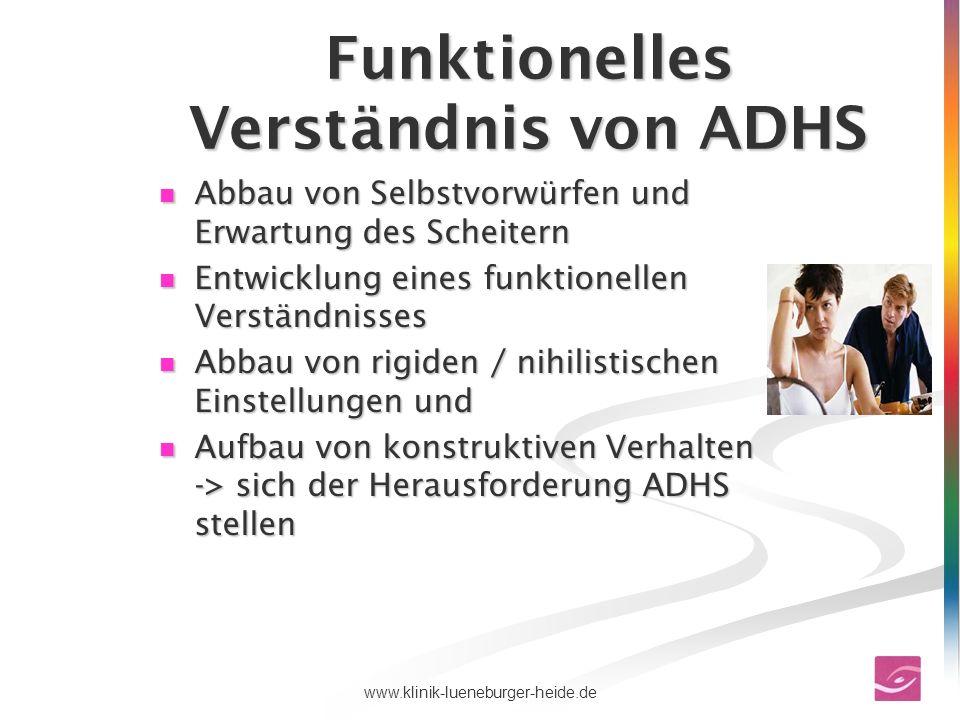 Funktionelles Verständnis von ADHS