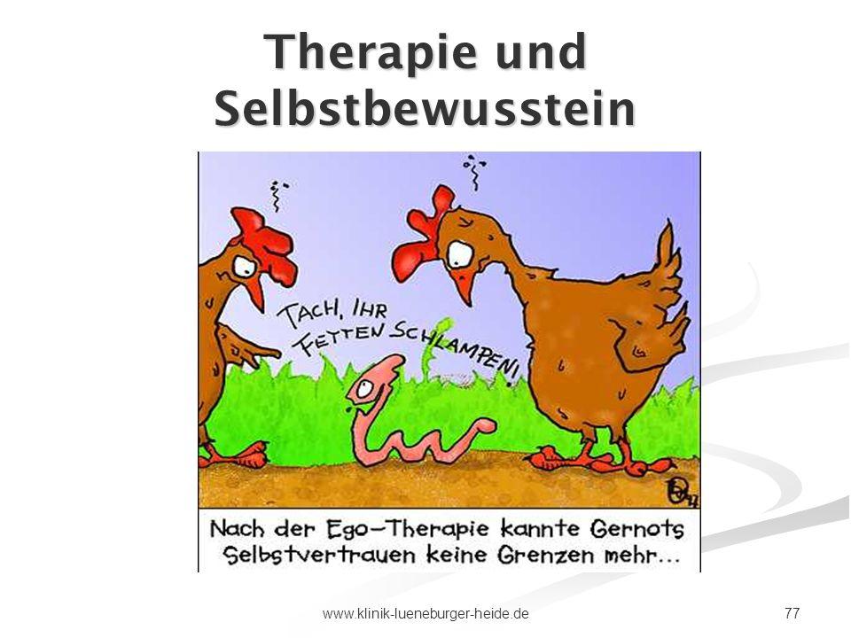 Therapie und Selbstbewusstein