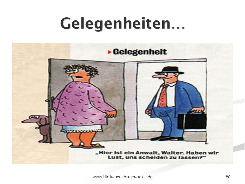 Gelegenheiten… www.klinik-lueneburger-heide.de