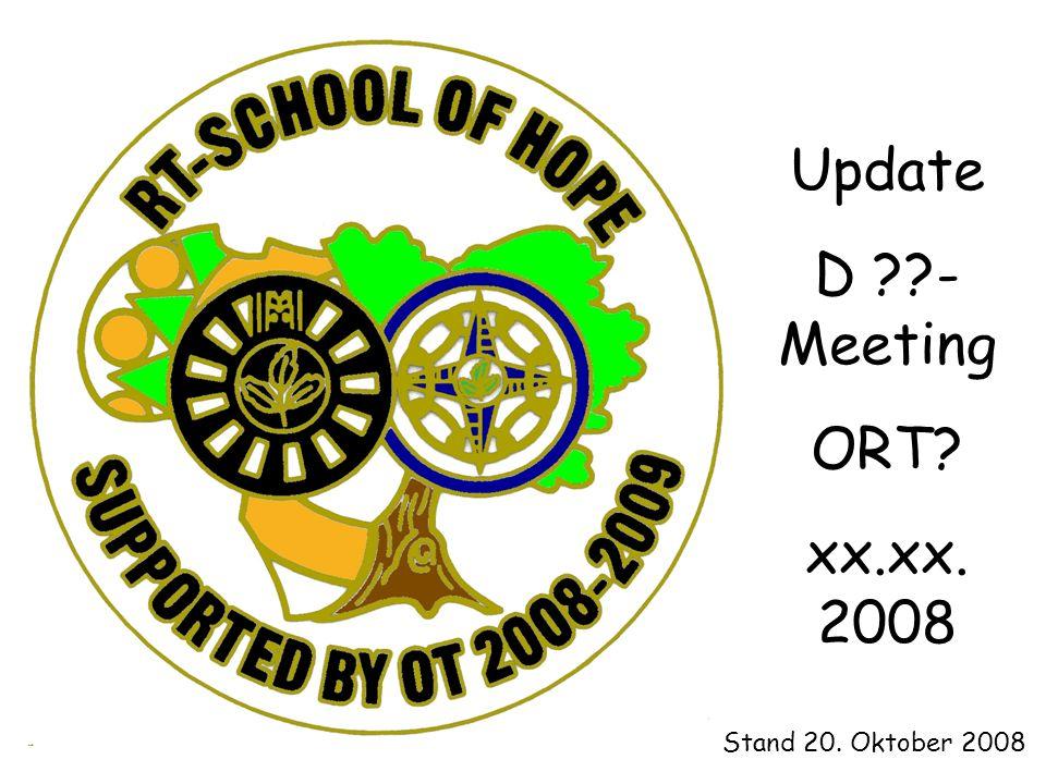 Update D - Meeting ORT xx.xx. 2008 Stand 20. Oktober 2008