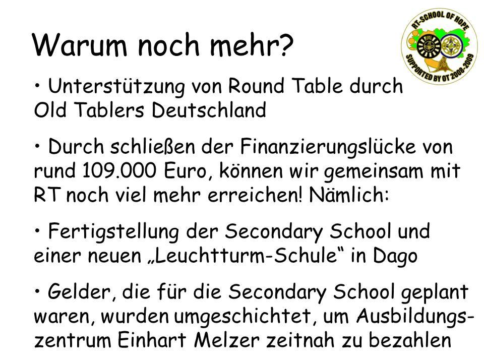 Warum noch mehr Unterstützung von Round Table durch Old Tablers Deutschland.