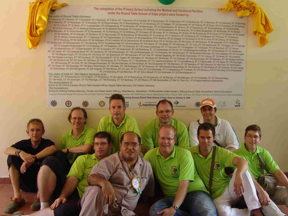 RTSoH Team vor Ort
