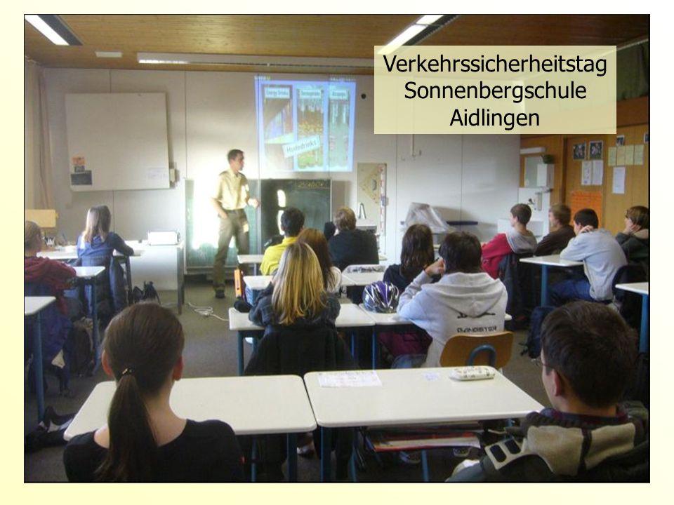 Verkehrssicherheitstag Sonnenbergschule Aidlingen