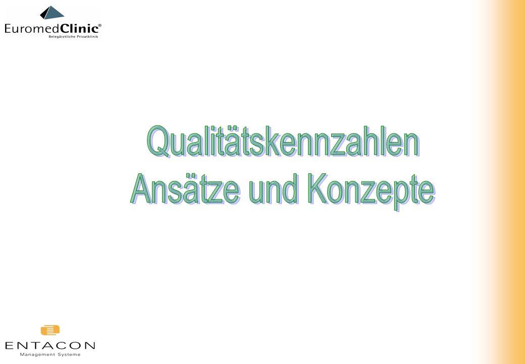 Qualitätskennzahlen Ansätze und Konzepte