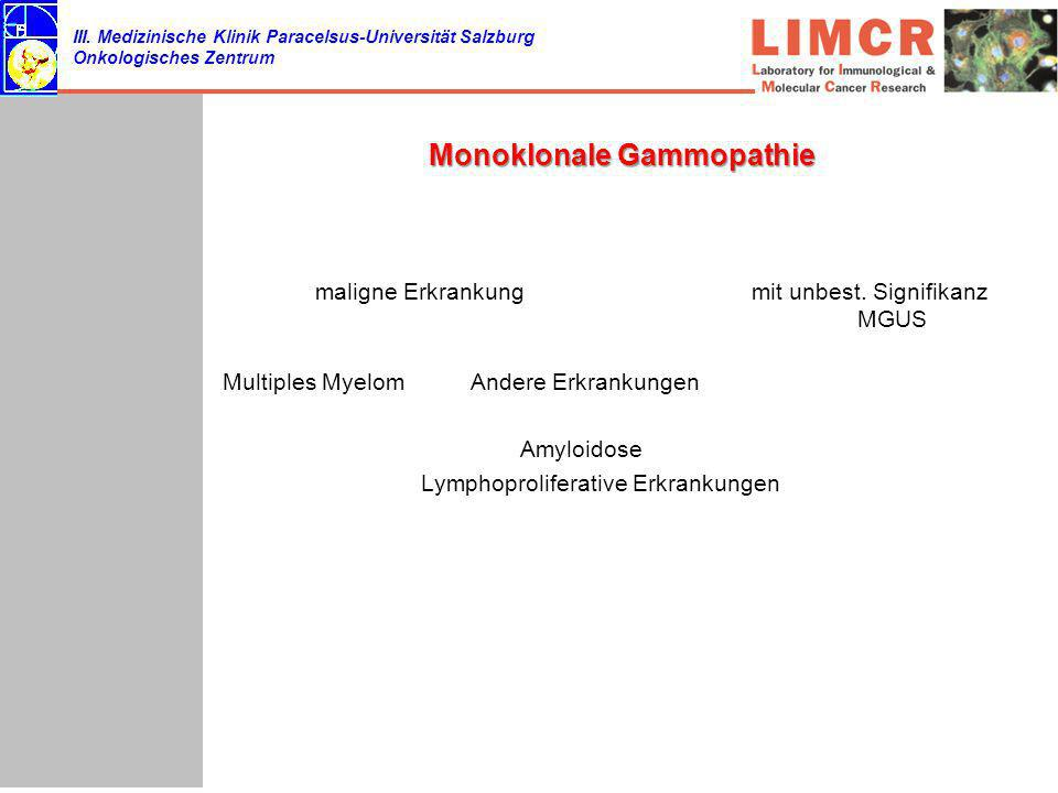 Monoklonale Gammopathie