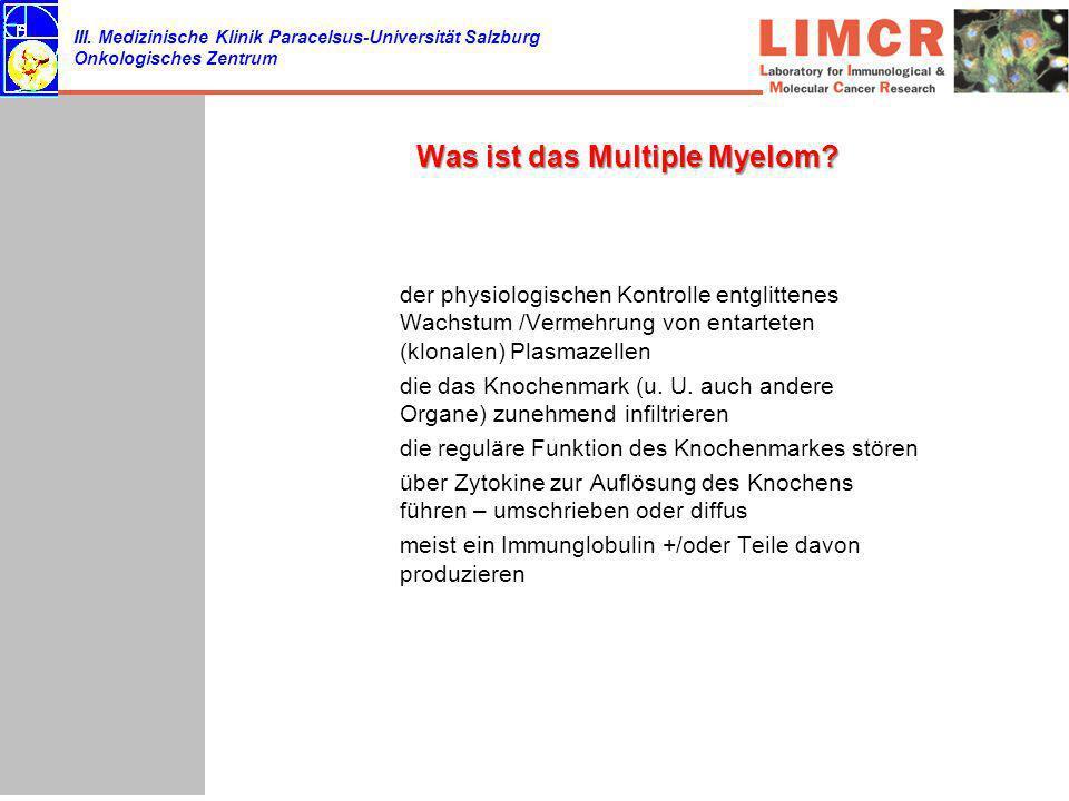 Was ist das Multiple Myelom