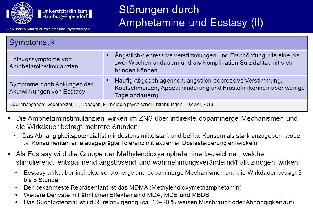 Amphetamine und Ecstasy (II)